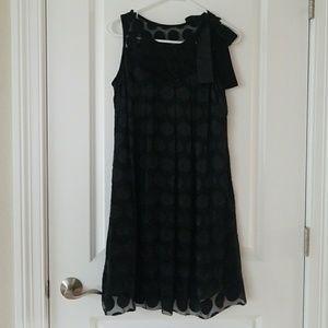 Anthropologie Phoebe Couture sz 8 Polka Dot Dress
